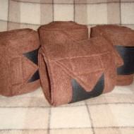 Флисовые бинты коричневые